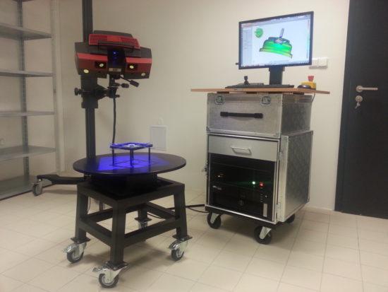 Nákup 3D scanu